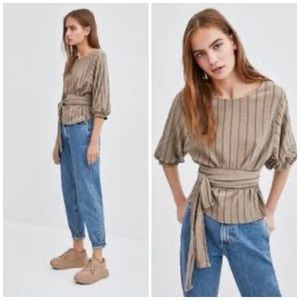 Zara Rustic Top